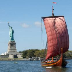 Come Aboard a Giant Wooden Viking Ship in NYC