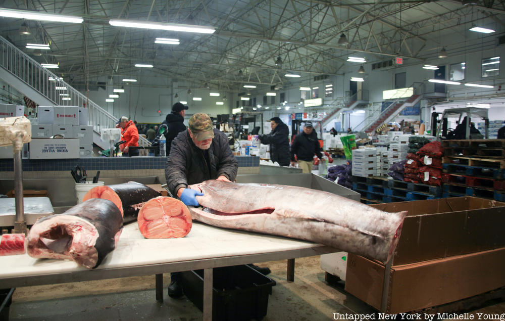 New york meat & fish market corp, 1729 macombs rd, bronx, ny 10453 get address, phone number, maps, ratings, photos and more for new york meat & fish market. A Look Inside The Fulton Fish Market Nyc S Bustling Seafood Distribution Center Untapped New York