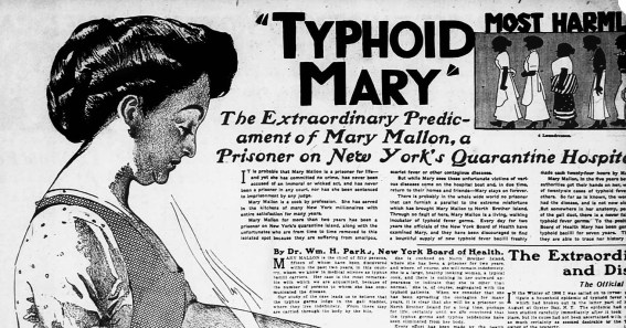 The Strange Story of Typhoid Mary, Quarantined on North Brother ...