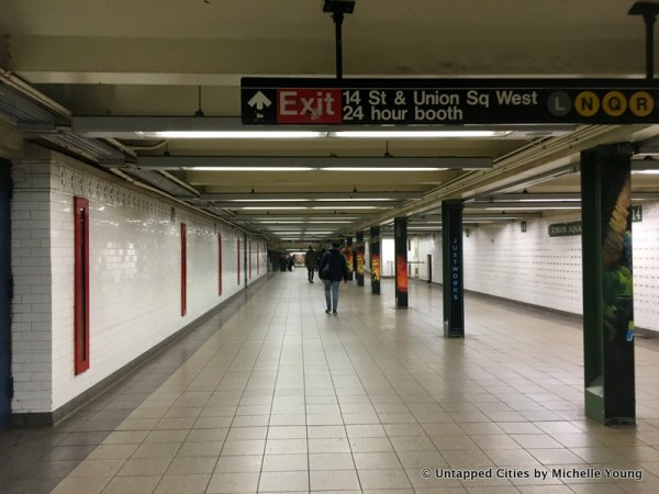 Remnants of 1904 Union Square Subway Station Hidden in ...
