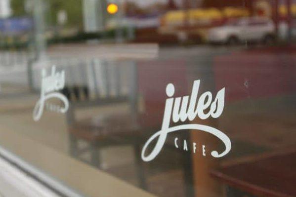 Jules Cafe storefront