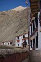 Das Kloster Ridzong lag auf der Route des zweiten Trekkingtages