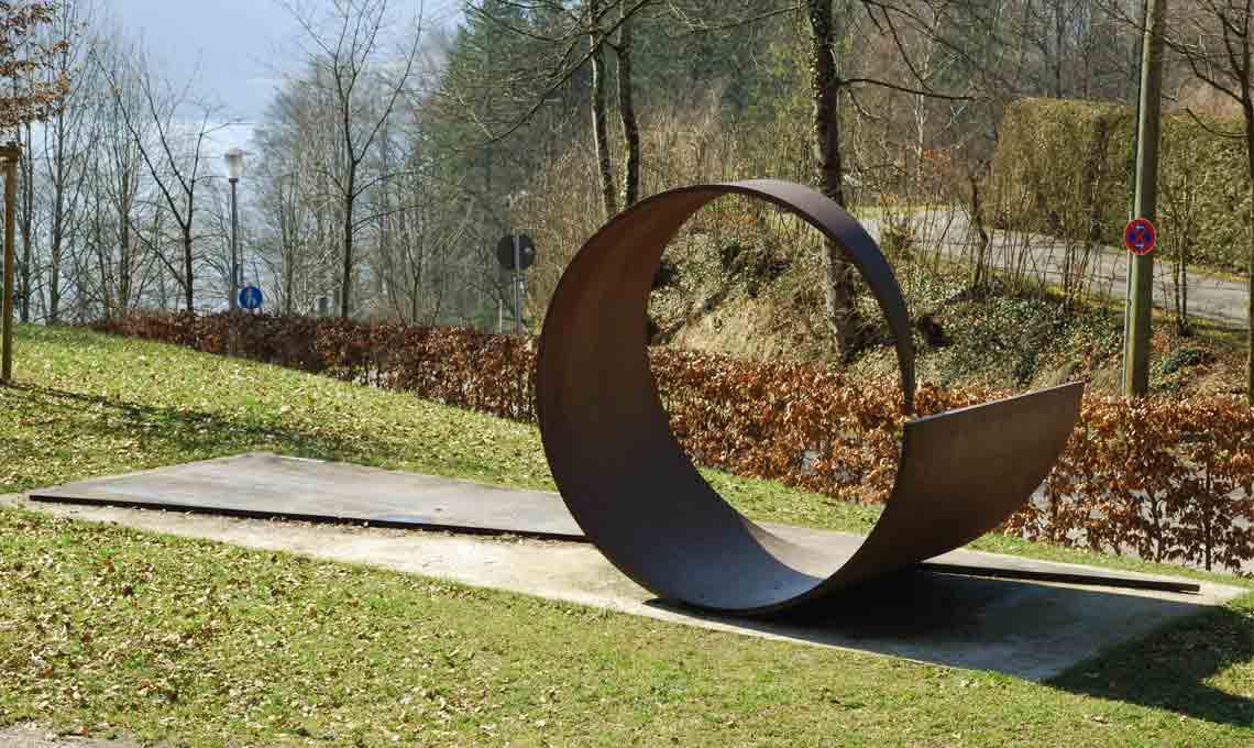 Alf Lechner Hommage an Franz Marc