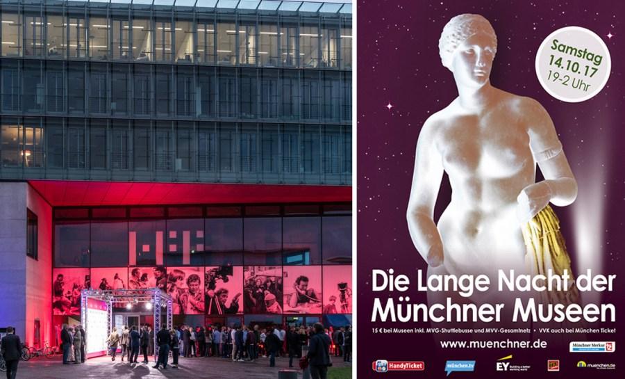 Lange Nacht der Münchner Museen 2017