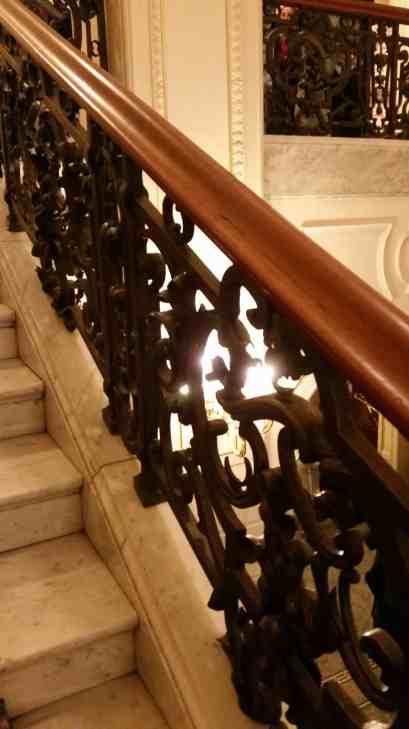 Das Treppenhaus der Laeizhalle