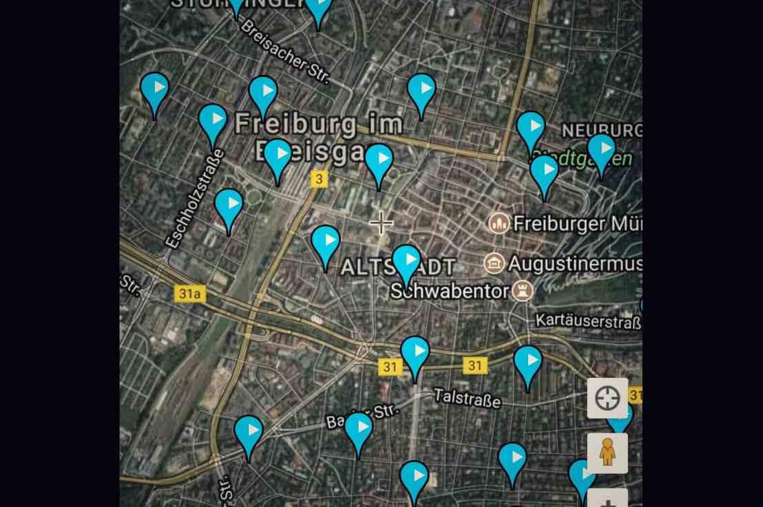 Handyapp: Carsharing Deutschland