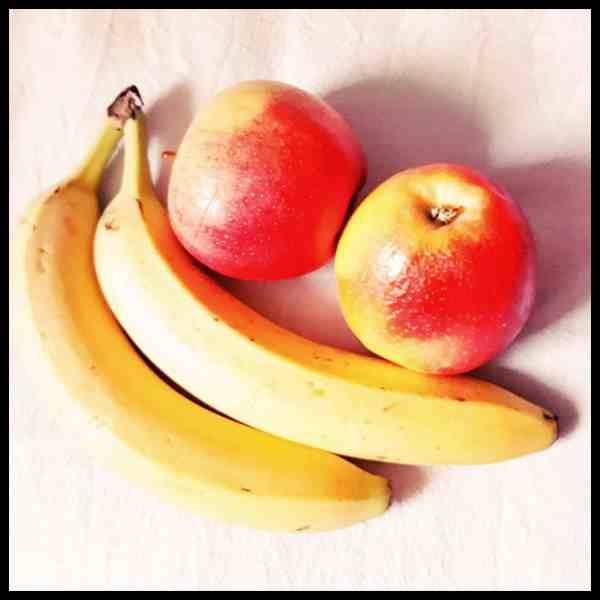 frisches Obst ist ideal als Reiseproviant