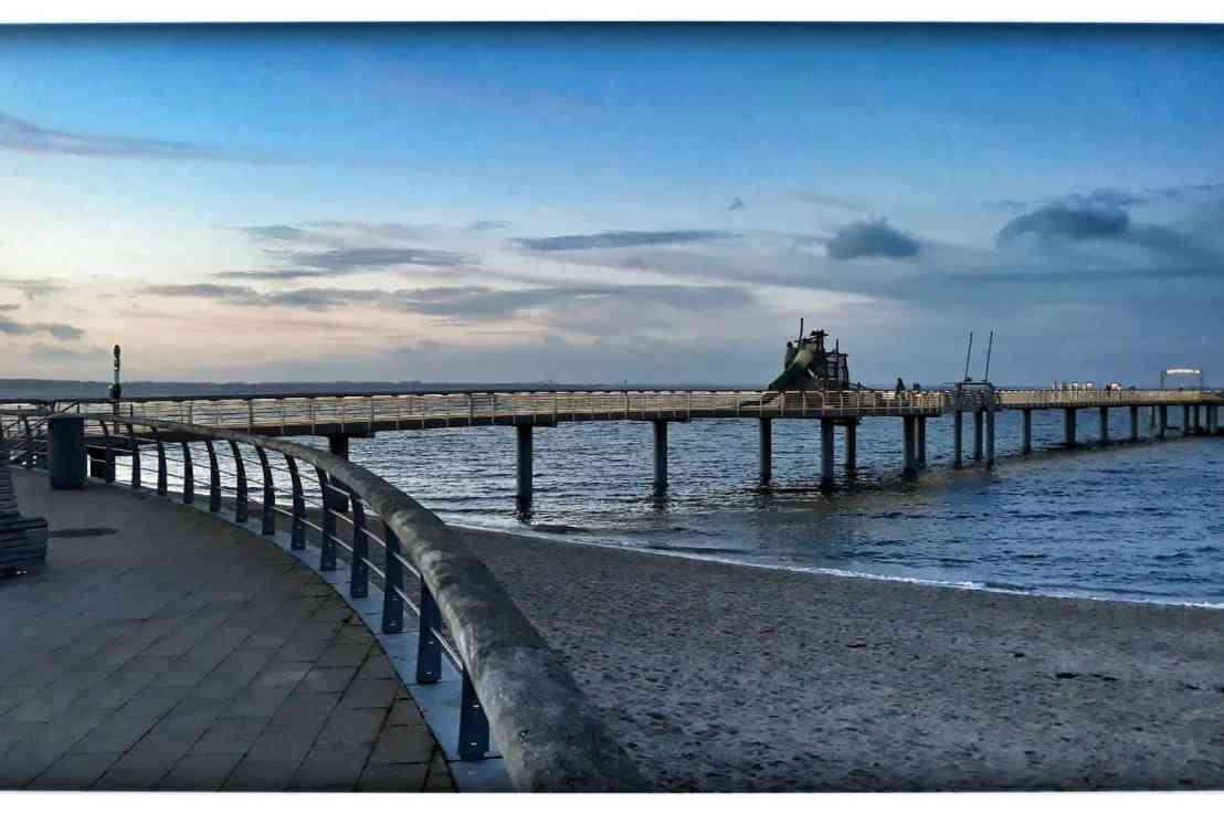 """Die """"blaue Stunde"""" an der Ostsee"""