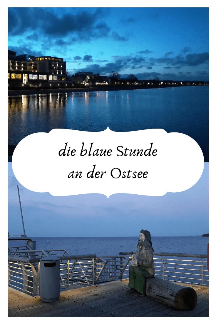 An einem kalten Winterabend an der Ostsee, Schabeutz strand