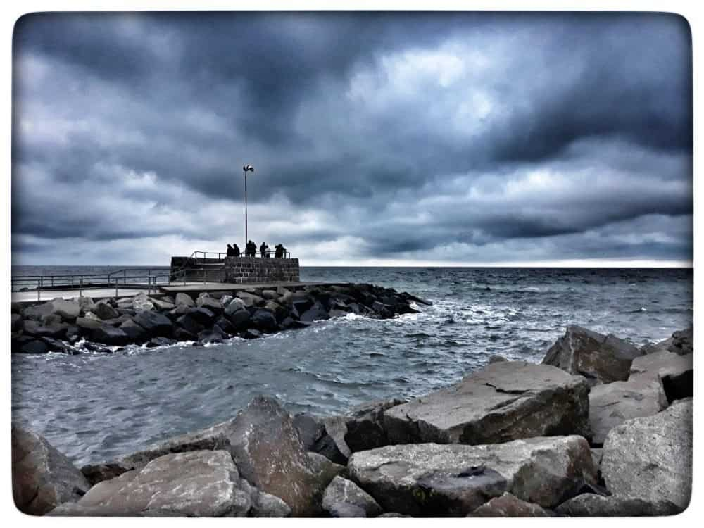 Schlechtwetterfotografie am Meer