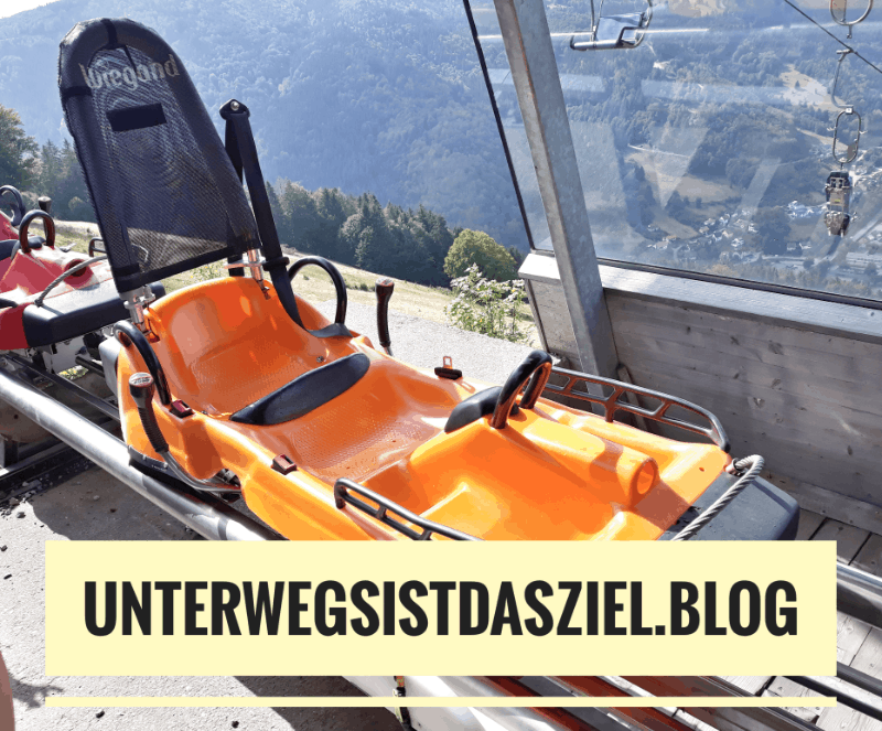 "Ausflugsziel Allwetter-Rodelbahn ""Hasenhorn Coaster"" in Todtnau"