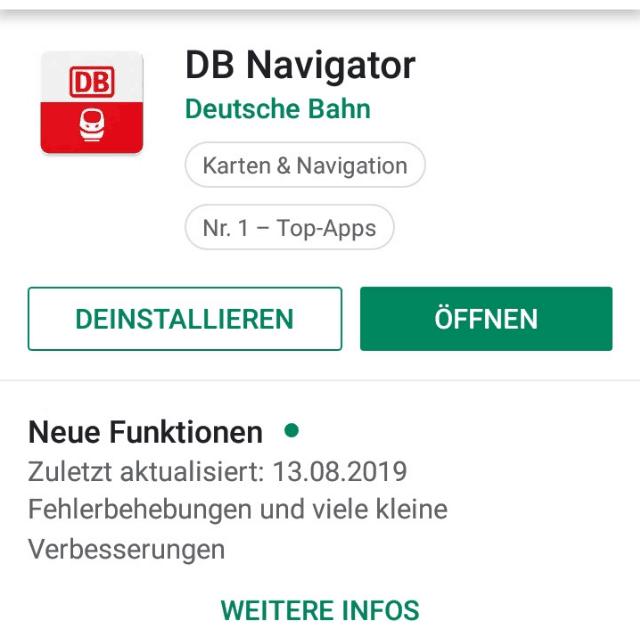 DB Navigator – meine Erfahrungenmit der Deutsche Bahn App