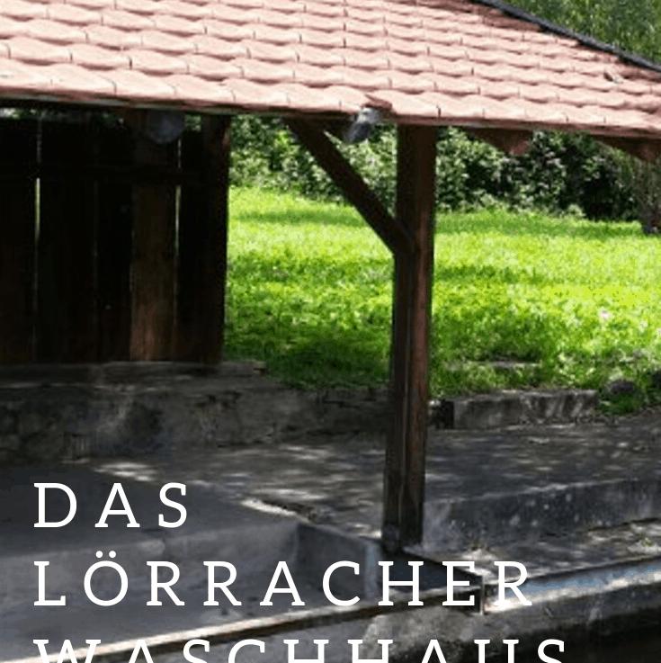 Ein Spaziergangmitten in Lörrach vorbei am alten Waschhaus, ein kleiner Ausflug in die Geschichte