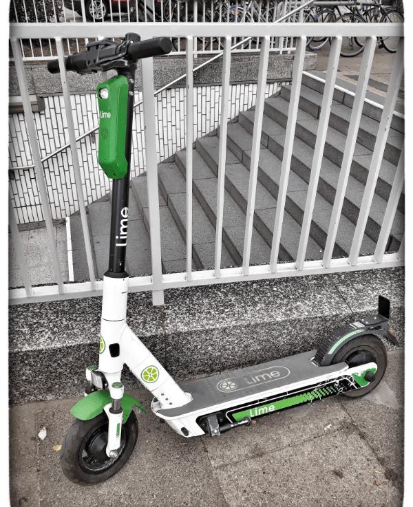 Sightseeing mit dem E-Scooter von Lime