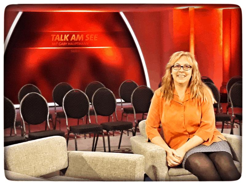 """Zuschauer bei der  TV- Talkshow """"Talk am See"""""""