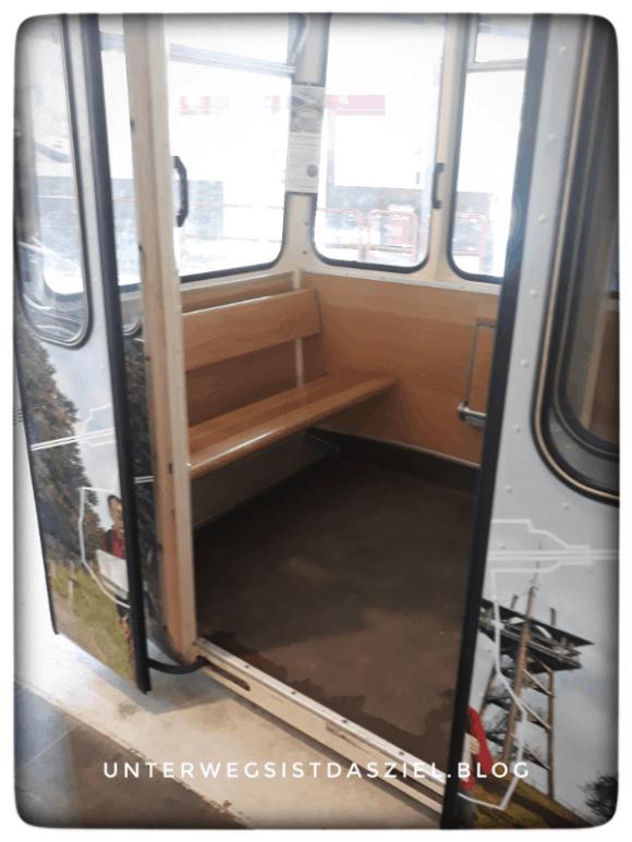 Kabine der Schauinslandbahn