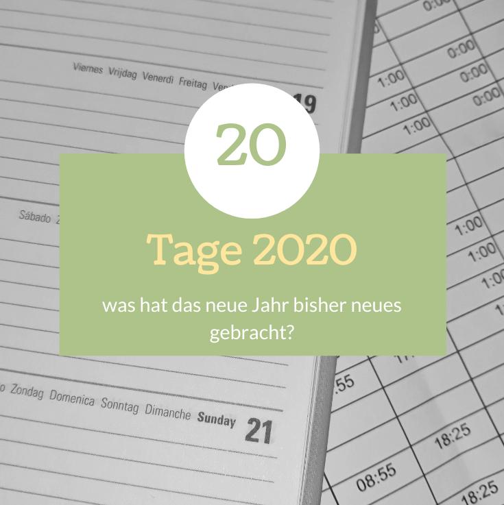 20 Tage 2020