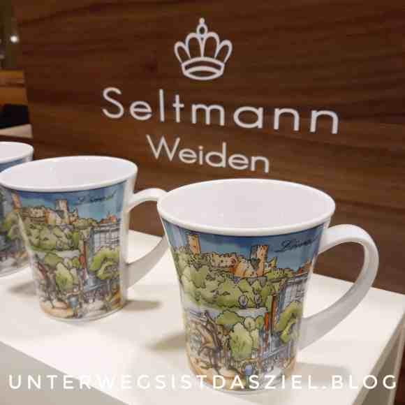 Tasse von Seltmann Weiden mit Motiven aus Lörrach