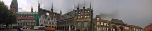 Lübeck - genau so sah das da aus, echt jetzt.