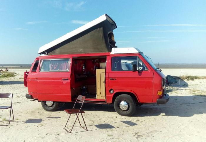 Bulli Strandcamping Bensersiel