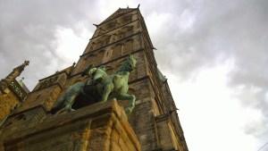 In Bremen gibt es gaaaanz viele alte Gebäude.