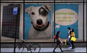 UnThink Solar Shopping window_boarder