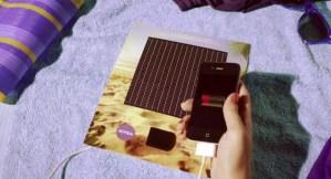 Nivea Solar Ad charger