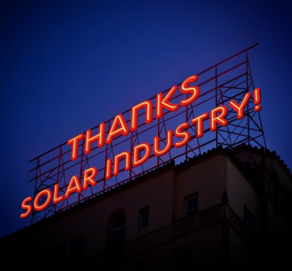 A 2014 Solar Industry Thanksgiving…