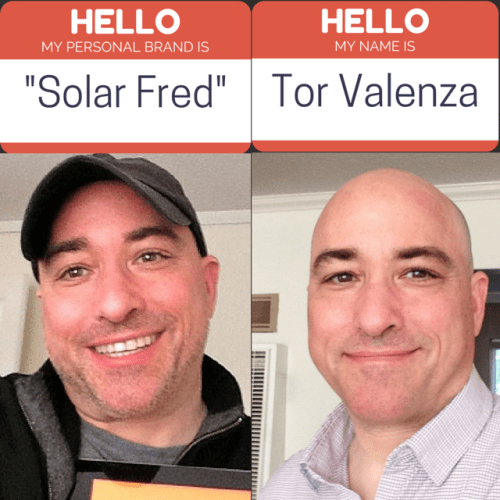 A Baseball Cap, the #ElonEffect, and the Power of a Personal Solar Brand