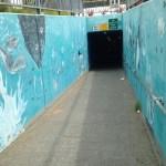 underpass mural