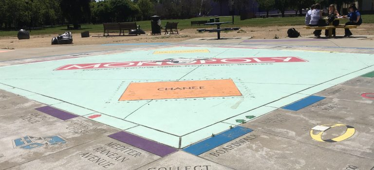Monopoly in the park, San Jose