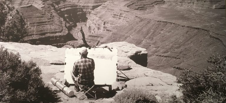 Tony Foster at the Grand Canyon