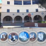 Replicas of Victor Arnautoff's murals at the Palo Alto Medical Foundation