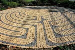 Labyrinth of the Unitarian Universalist Church of Palo Alto