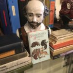 Shakespeare bust from the Shakespeare Society of America, Moss Landing