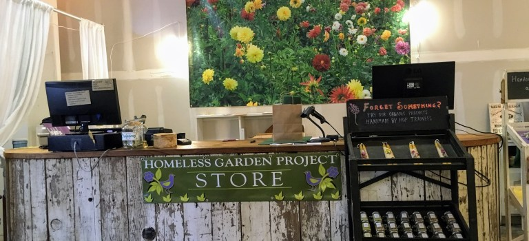 homeless garden project store, Santa Cruz