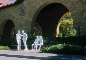 Gay Liberation sculpture from George Segal