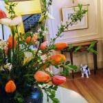 Bouquet in the entrance hall of Filoli, Woodside