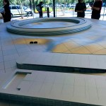 Model of Apple Park, Apple Visitor Center, Cupertino
