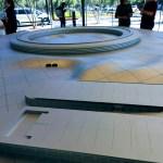 Model of Apple Park, Apple Visitor Center, Cupertino