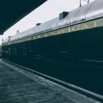 Old train at the South Bay Historical Railroad Society, Santa Clara