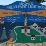 Welcome to Pigeon Point Lighthouse sign