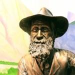 Bronze sculpture of John Muir, John Muir House, Martinez