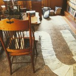 John Muir's scribbling den, John Muir House, Martinez.