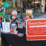 Twinkle Dee Star, kids entertainment at the Los Altos Farmers Market.
