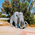The Lupe sculpture at the Lower Guadalupe River Trail.
