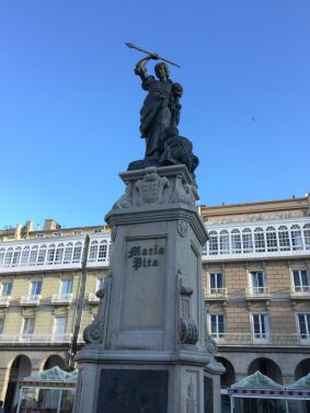 Maria Pita Herself - celebrated for seeing off Francis Drake