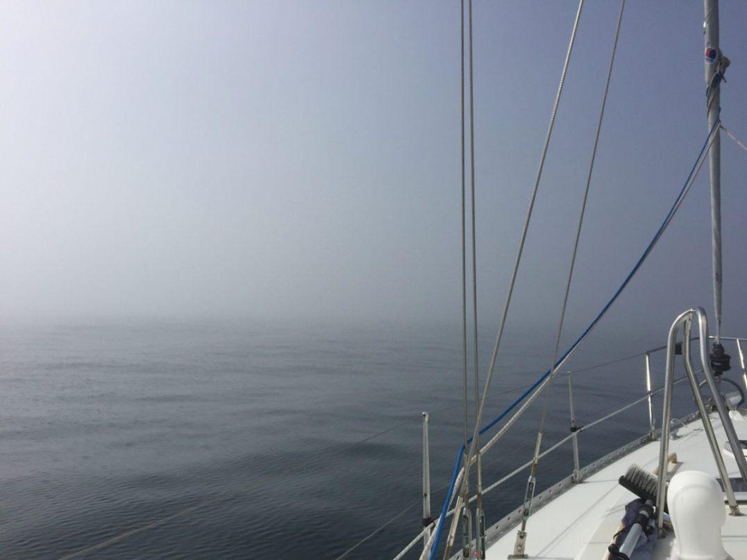 Fog outside Douro