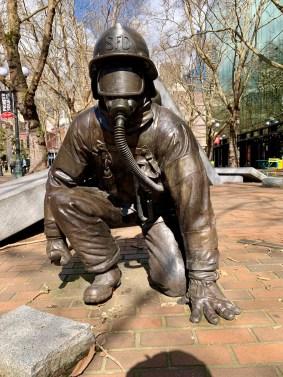 Fireman bronze