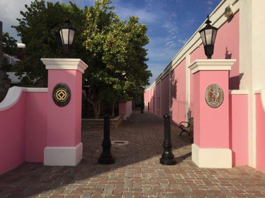 Bermudian pink